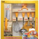 Kai Little Chef Club Childrens Cookware 8 Piece Set (FG-5009)