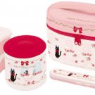 Bento: Kiki Delivery Service Thermal Lunch Box Set (Food Containers, Fork and Bag)