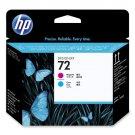 HP 72 (C9383A) Cyan/ Magenta OEM Genuine Inkjet/Ink Printhead / Retail