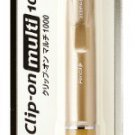 Zebra B4SA3 Clip-on multi 1000S 4 Color Pen And Mechanical Pencil Gold Body