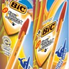 BIC Japan - Big Orange Medium EG1 0 red 1 0mm 20 pens