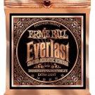 Ernie Ball 2550 Everlast Acoustic Guitar Strings Phosphor Bronze -Light