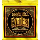 Ernie Ball 2556 Everlast Acoustic Guitar Strings 80/20 Bronze Medium Light 12-54