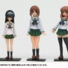 Japanese Girls' school dressed mini figure 5 pieces set