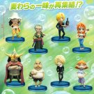 One Piece World Collectable Figure Vol.25 all eight species set (japan import)