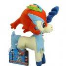 Takaratomy Pokemon Best Wishes Plush Doll - Keldeo (Resolute Form)
