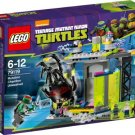 Escape From Lego Mutant Ninja Turtles Mutation Room (Lego79119)