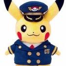 Stuffed pilot Pikachu Pokemon Center New Chitose Airport Limited