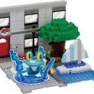 nanoblock + PP-004 Pokemon Froakie Yacht Harbor