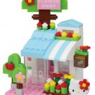 nanoblock + hello Kittey flower shop PK-004