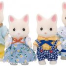 "Epoch Sylvanian Families Sylvanian Family Doll "" Family of Silk Cat Fs-12 """