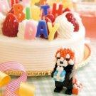 nanoblock Post Card (Red Panda) Birthday (japan import)