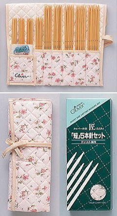Crafts: Clover Knitting Needles 5-set, Short