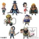 One Piece World Collectable Figure vol.33 all eight kinds of sets (japan import)