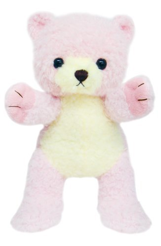 Famyi of Cubs Stuffed Pink Bear Puppet Baby Toy