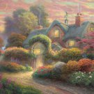 Puzzle: Cottage of Buds 1000-piece [Japan Import]