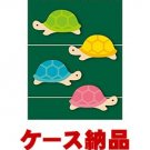 Midori Removable Stickers Marker Paper Turtle 5 Packs