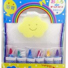 Japan Crayon Bathing Kit Set KFS-2
