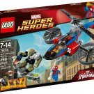 LEGO Super Heroes 76016: Spider-Helicopter Rescue (Japan Import)