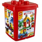 Red bucket basic LEGO set 7616 (with block off) (japan import)