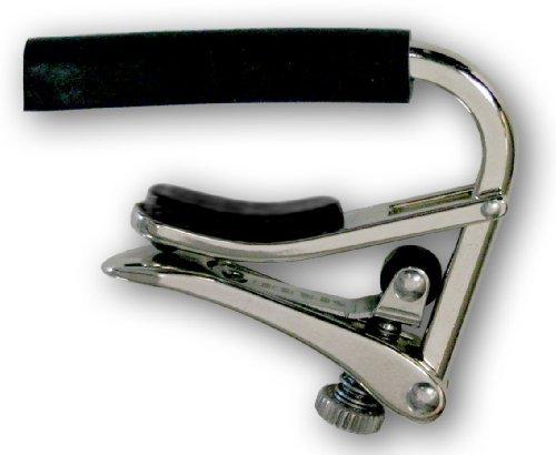 Capo: Shubb C1 Nickel Capo for Steel String Guitar