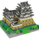 Nanoblock Architecture - Himeji Castle - 2253 Pieces