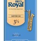 D Addario &Co Inc - Rico Royal Baritone Sax Reeds/ Strength 3 5/ 10 in 1 pack