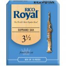 Rico DAddario &Co.  Royal Soprano Sax Reeds Strength 3.5 10-pack
