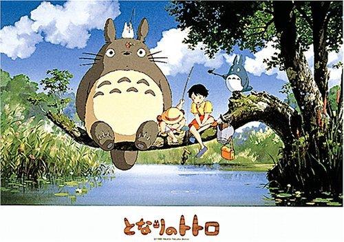 Puzzle: Studio Ghibli Totoro Gone Fishing 500 Pieces Jigsaw