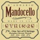 DAddario J78 Phosphor Bronze Mandocello Strings 22-74
