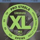 DAddario EPS165 ProSteels Bass Guitar Strings Custom Light 45-105 Long Scale