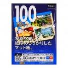Nakabayashi Co Ltd - Digio color inkjet paper Thick high-grade mat B5 100 sheets