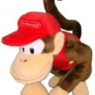 "Super Mario Plush - 6"" Diddy Kong Soft Stuffed Plush Toy Japanese Import"