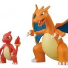 Pokemon Evolution Plastic Model Kit Charmander Charmeleon Charizard Plamo Figure Toy Lizardon Bandai