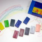 12 color paper box Stockhausen Marr beeswax crayons block