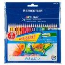 Staedtler Noris Club colored pencils Set 144 NC24P 24 colors