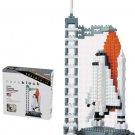 Nanoblock Technology NBH-014 - Space Center (Space Shuttle)