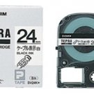 KINGJIM - SV24K - Office Product - Tape cartridge - 24 - black ink