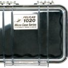 Pelican 1020 Micro Case with Clear Lid and Carabineer Black