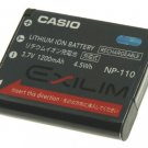 CASIO Digital Camera battery NP-110 for EX-Z2000
