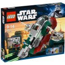 Lego Star Wars Slave 1 8097 NEW With 3 Minifigures Boba Fett Han Solo Bossk