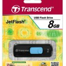 Transcend Tristan Pub 8 GB JetFlash 500 USB 2.0  Flash Drive - TS8GJF500 (Black)