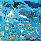 Picture Puzzle 35 Pieces Umi No Nakamatati (Japanese Fishes in the Sea) 26-207