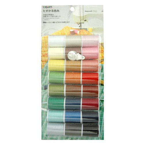 Sewing Thread 24-color Set
