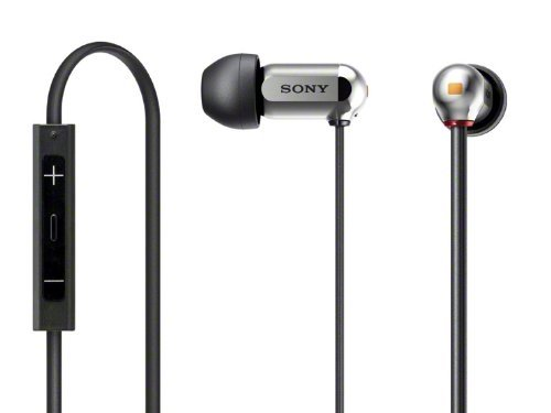 Sony XBA-10IP/S Silver   Balanced Armature In-Ear Headphones for iPod / iPhone