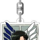 Attack on Titan acrylic key ring revival of advance (japan import)
