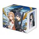 Sword Art Online SAO AZUNA KIRITO Deck Holder Card Box Vanguard Bushiroad Vol137