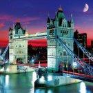 Drawbridge-winning 1000 micro Peace Tower Bridge at dusk - M81-843 (japan import)