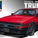 Aoshima 1/24 Sprinter TRUENO AE86 EARLY (RED/ BLACK) PRE PAINTED MODEL
