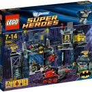 LEGO Super Heroes The Batcave Bruce Wayne Batman Robin Poison Ivy and Bane
